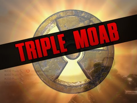 MW3 |  &quot;TRIPLE MOAB GAMEPLAY&quot;! |  3 M.O.A.B in 1 Game (MUST WATCH) &quot;Modern Warfare 3 MOAB&quot;