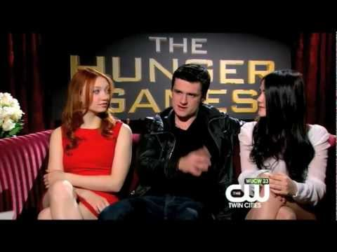 The CW Twin Cities Interviews Cast of The Hunger Games
