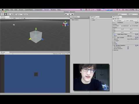 Unity Tutorial 01: Part 1: Basic Object Creation and Scripting