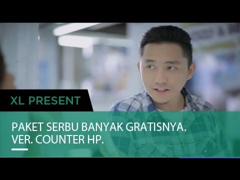 XL - Paket SERBU Komersial (Versi Counter HP)