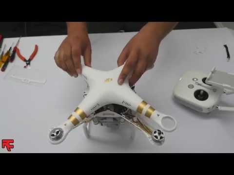 Phantom 3 Retractable Landing Gear Installation Instruction