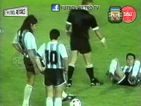 Argentina (5) 1-1 (4) Dinamarca - Copa Artemio Franchi 1993