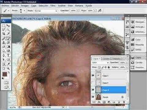 photoshop cs3 tutoriales pelo photoshop videotutoriales.es