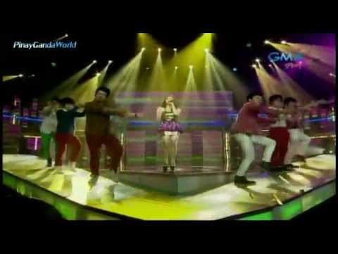 "Party Pilipinas [LUCKY] - OPening ""Julieanne San Jose w/ The Chicsers"" = 1/13/13"