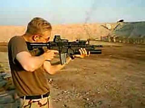 M4 carbine in Iraq