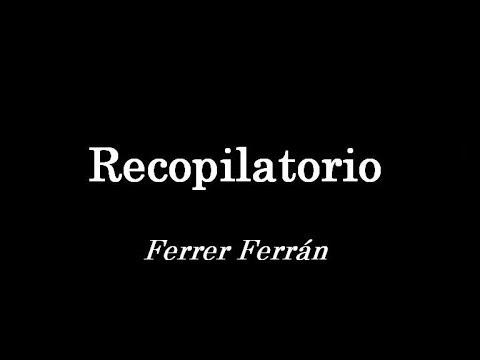 Ferrer Ferrán - Recopilación de Pasodobles [Parte 1]