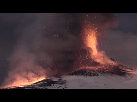 Mount Etna erupts for first time in 2012 - no comment