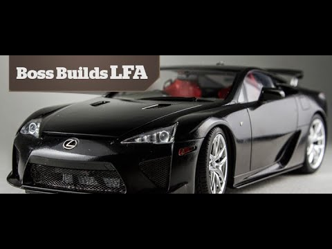Boss Builds : Lexus LFA Part 2 - Painting Basics