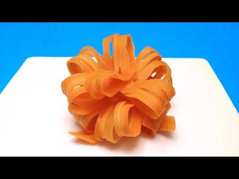 Cách Trình Bày Hoa Carrot