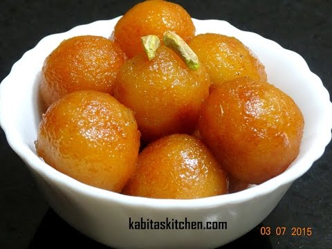 Bread Gulab Jamun Recipe | Instant Gulab Jamun | How To make Perfect Bread Gulab Jamun |Indian Sweet