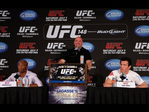 UFC 148: Anderson Silva Says Chael Sonnen Is 'Screwed'
