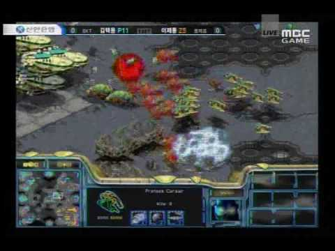 Bisu vs Jaedong @ Proleague - SKT vs Lecaf (Dual Commentary)