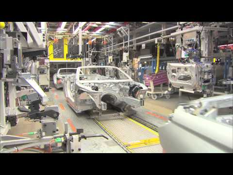 2012 BMW 650i Convertible Production Line