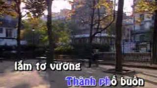 Thành phố buồn - Tuấn Vũ - karaoke