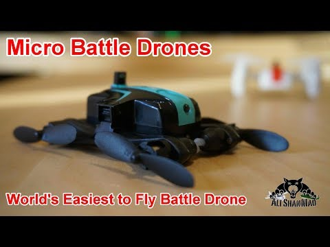 Micro Battle Drones Solo Flight Demonstration - UCsFctXdFnbeoKpLefdEloEQ