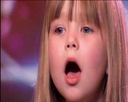 Britains Got Talent or Americas Got Talent  Connie Talbot WOWs Simon Cowell !