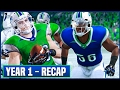 YEAR 1 RECAP (Stats/Awards) & OFFSEASON Preview - NCAA Football 14 Dynasty | Ep.16