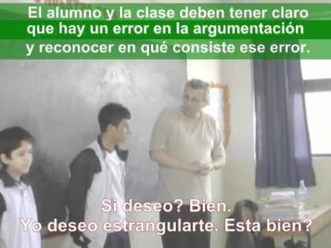 Filosofía para Niños 13-14 años. Oscar Brenifier 15 min