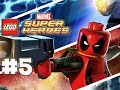LEGO Marvel Superheroes - LEGO BRICK ADVENTURES - Part 5 - SPIDEY! (HD Gameplay Walkthrough)