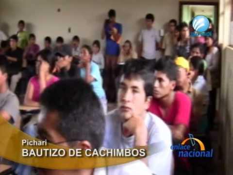 Ingresantes a la UNSCH recibieron bautizo del cachimbo en Pichari