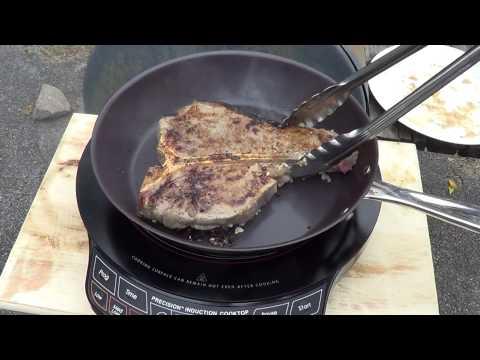 Seared Steak NuWave Precision Cook Top