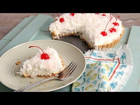 No-Bake Pina Colada Cheesecake Tart - Laura Vitale - Laura in the Kitchen Episode 1074