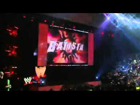 WWE BATISTA RETURNS to Save RAW 2012 NEW GIMMICK
