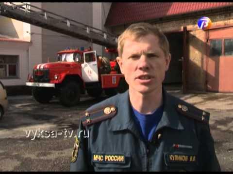 На ул. Челюскина в Выксе горел жилой дом