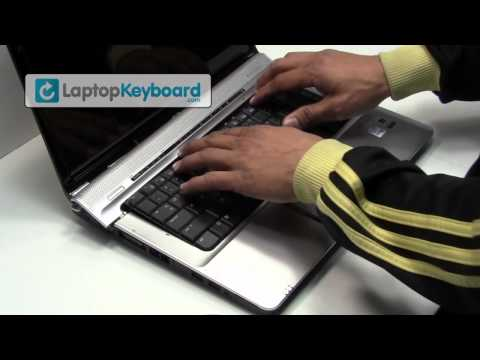 HP Compaq DV6000 Laptop Keyboard Installation Replacement Guide - Remove Replace Install