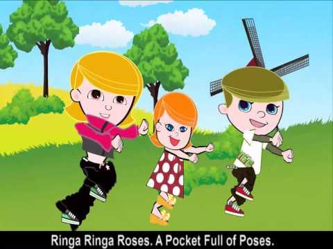 Nursery Rhymes - Ringa Ringa Roses -QaZVBANvcdQ