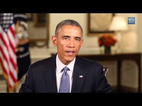 (Weekly Address) The World is United in the Fight Against ISIS  9/20/14