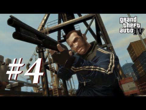 Grand Theft Auto 4 Multiplayer Shenanigans with Creatures Episode 4 - Double the Rocket