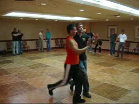 Lee Fox  Advanced Country Western Waltz Workshop Stompede 2008 San Francisco