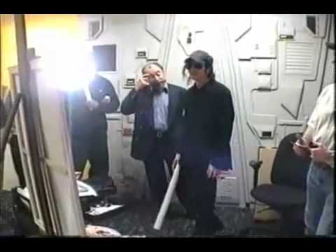 Michael Jackson Tours in Marvel Studio meets Stan Lee rare