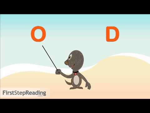 Two Word Blending Letter O | Learn to Read, Beginning Reader, Pre-Reader Phonics Lesson