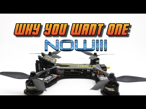 PERFECT BEGINNER FPV RACING DRONE. Tyrant S Review + Flight | part 2 - UC3ioIOr3tH6Yz8qzr418R-g