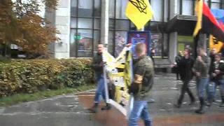 Марш в честь годовщины создания УПА