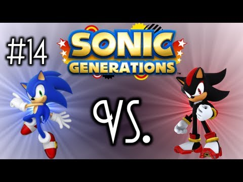 Sonic Generations - Ep. 14 - Sonic vs. Shadow - Modern (HD)