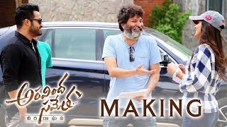 Aravindha Sametha Movie Making