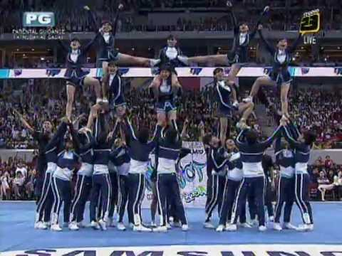 Adamson Cheering Squad - 2012 UAAP Cheerdance Competition