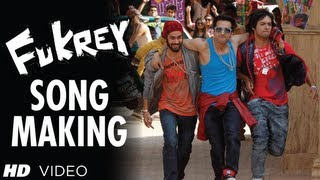 Making of Fukrey Title Song Fuk Fuk Fukrey