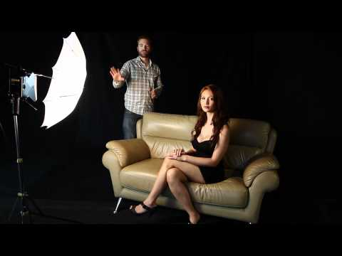 Light modifiers : Live Demo (Umbrella,Softbox,Reflector Panel,Barndoor)