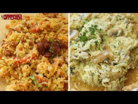 How to Make Cauliflower Rice Two Ways | Keto Recipes | Headbanger's Kitchen