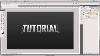 Photoshop Tutorial: Make EPIC 3D Text In Photoshop by creoGFX (UPDATED)