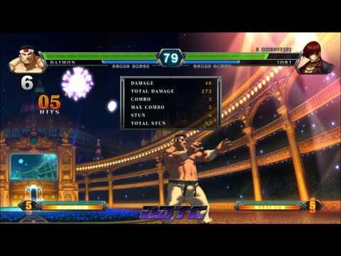 KOF XIII: Goro combo tutorial - Goro the Judo master