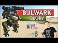 War Robots - Bulwark на Glory MK2!