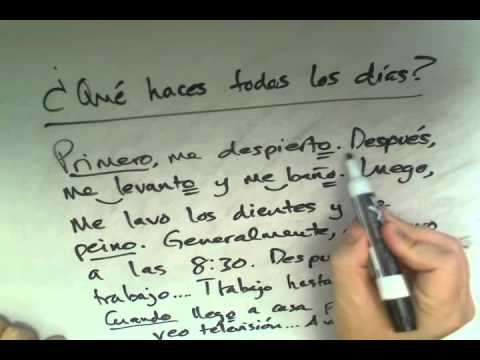 Asking and Answering Questions in Spanish, Part 8: Daily Routine Questions