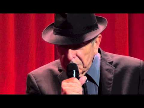 Leonard Cohen, I've Got a Little Secret, 12-09-2013