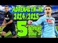 Apertura 5 Bustine Adrenalyn XL Calciatori Panini Serie A 2014/2015