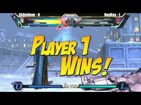 XAQshinor vs RayRay Match - Big Two UMVC3 tournament